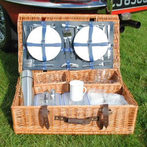 Farnham Fitted Picnic Hamper - 4 person