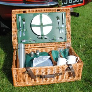 FarnhamPlus Fitted Picnic Hamper - 2 person