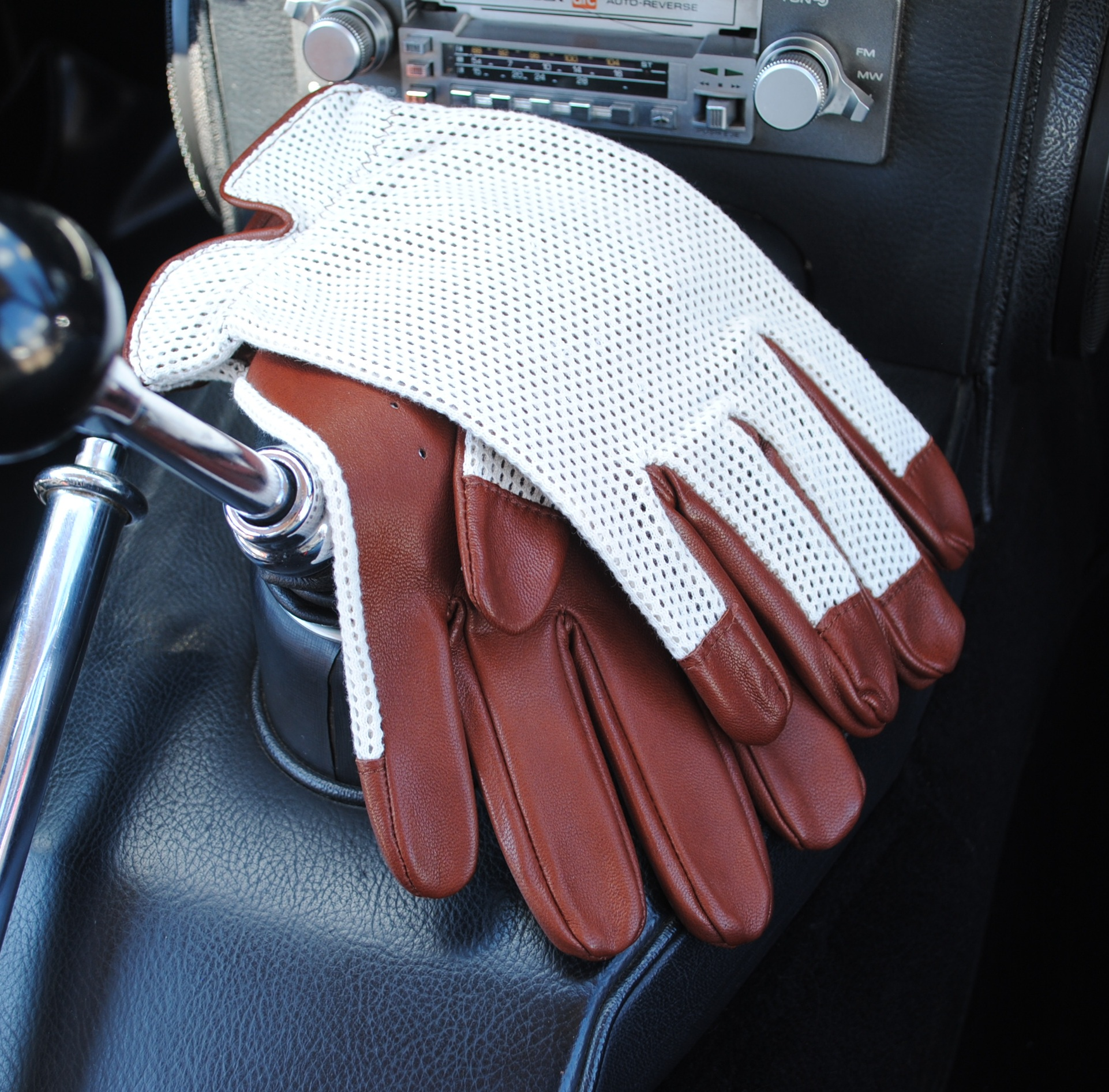 Les Leston Driving Gloves – Brown