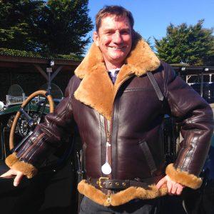 Greycar RAF Sheepskin Flying Jacket