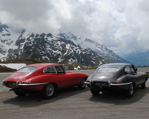 A PAUSE AT THE SUSTEN PASS EN ROUTE TO.....