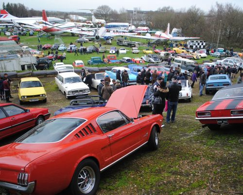BROOKLANDS MUSEUM - NEW YEAR'S DAY 2016.