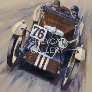 MG M TYPE WATERMARKED(1930 Double Twelve Brooklands) (40x30)