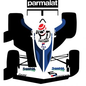 PIQUET '83 (Brabham BT52) WATERMARKED(55X40) (75X55)