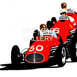 RED ON RED - The Italian Job (Monza 1953) WATERMARKED(55X38) (80X55)