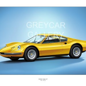 Ferrari Dino Print Yellow_ Greycar WATERMARKED (003)