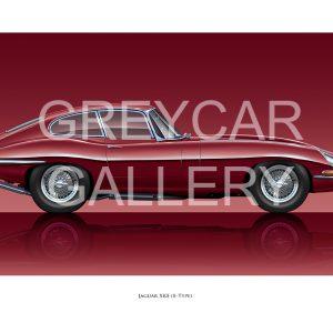 Jaguar XKE FHC trio Greycar WATERMARKED (002)
