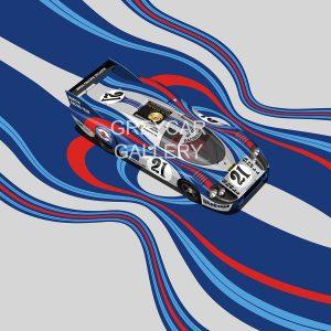 Porsche 917 LH Martini print2