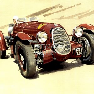 Alfa Romeo 8C roadster.-ink