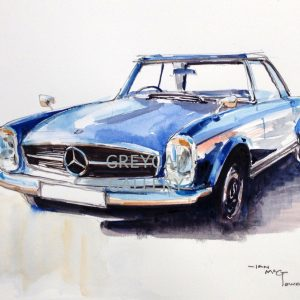 Mercedes Benz 280SL-ink