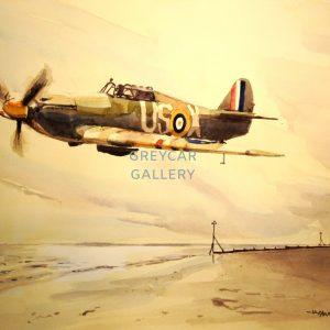 RAF Hurricane Mk1-ink